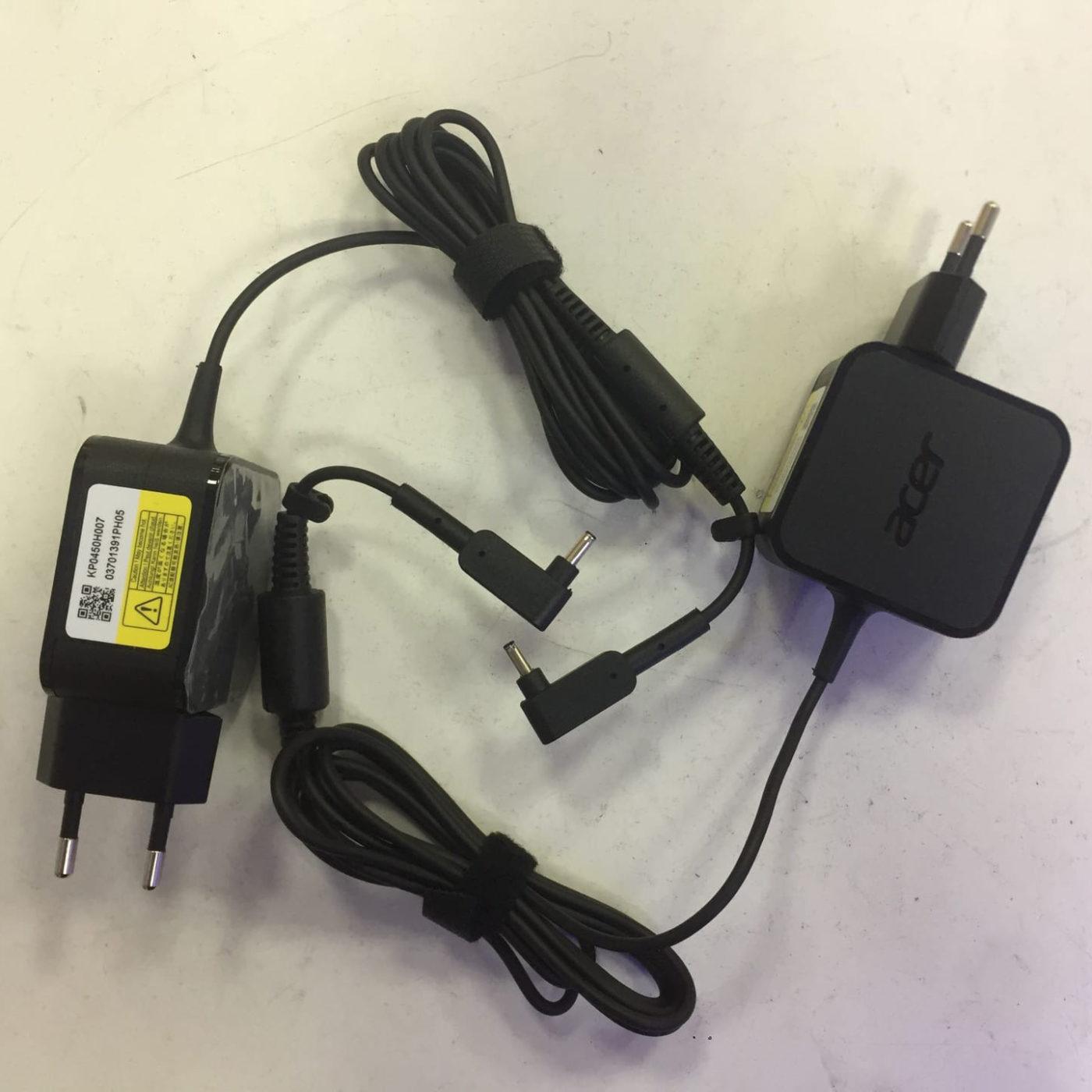 Зарядное устройство для ноутбуков Acer 19.0V, 2.37A, 45W, 3.0 x 1.1 мм W15-045N4B